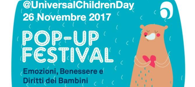 POP-UP Festival per celebrare i diritti dei bambini